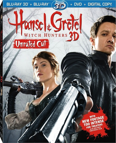 Охотники на ведьм (Расширенная версия) / Hansel and Gretel: Witch Hunters (Unrated Cut) [2012 / ужасы, фэнтези, боевик / BDRip 720p] Dub (лицензия)