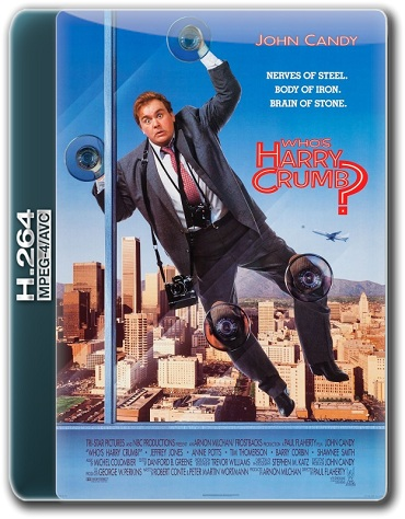 Кто такой Гарри Крамб? / Who's Harry Crumb? [1989 / Комедия, Криминал, Детектив / WEB-DL 1080p] MVO + Sub
