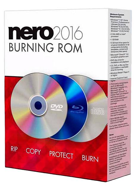 Nero Burning ROM & Nero Express 2016 [v 17.0.5000] [2015]