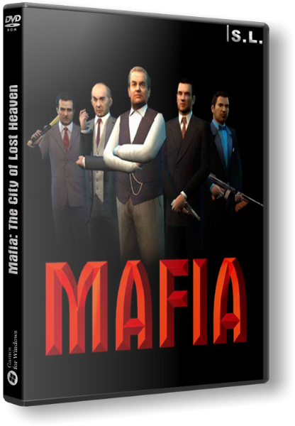 Мафия / Mafia: The City of Lost Heaven [v1.3] [2002 / Action, Shooter, Racing, Cars, 3D, 3rd Person / Лицензия] | PC