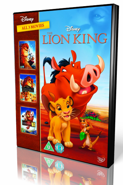 Король Лев Трилогия / The Lion King Trilogy [1994 - 2004, семейный, мультфильм, BDRip 1080]