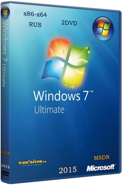 Windows 7 Ultimate SP1 7DB [12.2016] [2DVD] by OVGorskiy