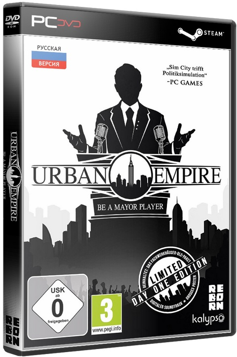 Urban Empire [2017 / Strategy, Manage, Busin, Real-time, 3D, Isometric / Лицензия] PC | Лицензия