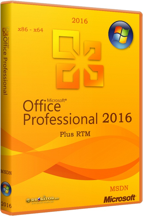 Microsoft Office 2016 Professional Plus [16.0.6366.2025] [2016]