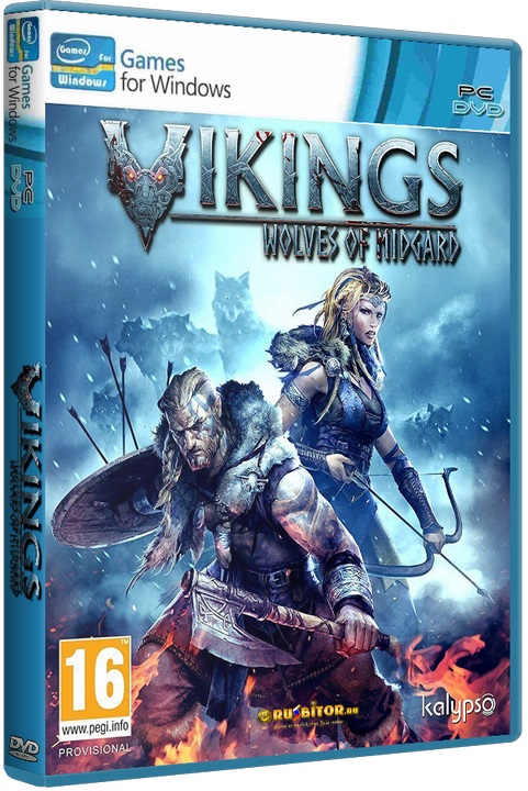 Vikings - Wolves of Midgard [2017 / RPG, Action RPG, Isometric, 3D / RePack] PC | RePack от FitGirl