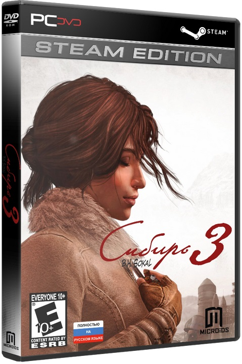 Syberia 3|Сибирь 3 - Digital Deluxe Edition [2017 / Adventure / 3D / 3rd Person / Лицензия [Steam-Rip]]