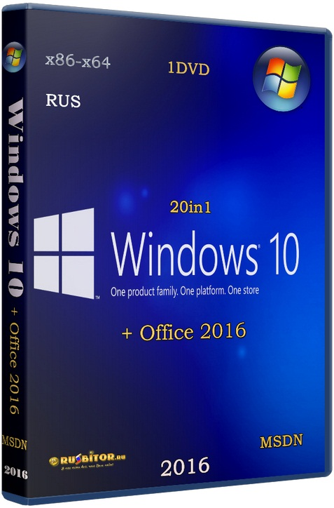 Windows 10 (x86/x64) 12in1 + LTSB +/- Office 2016 [11.05.17] [2017] [1DVD] by SmokieBlahBlah