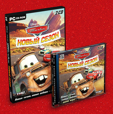 Тачки. Новый сезон / Cars: Mater-National [2007 / Arcade / Racing (Cars) / 3D / Лицензия]