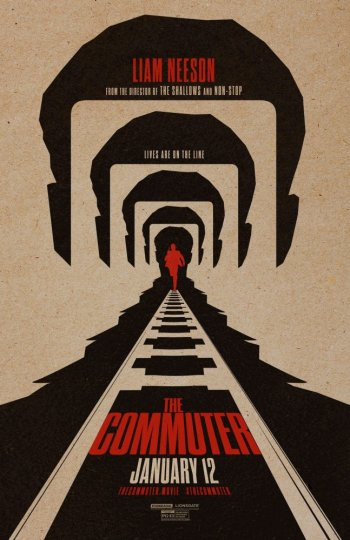 Пассажир / The Commuter [2018 / триллер, драма, криминал, детектив / HD 720p] | Трейлер