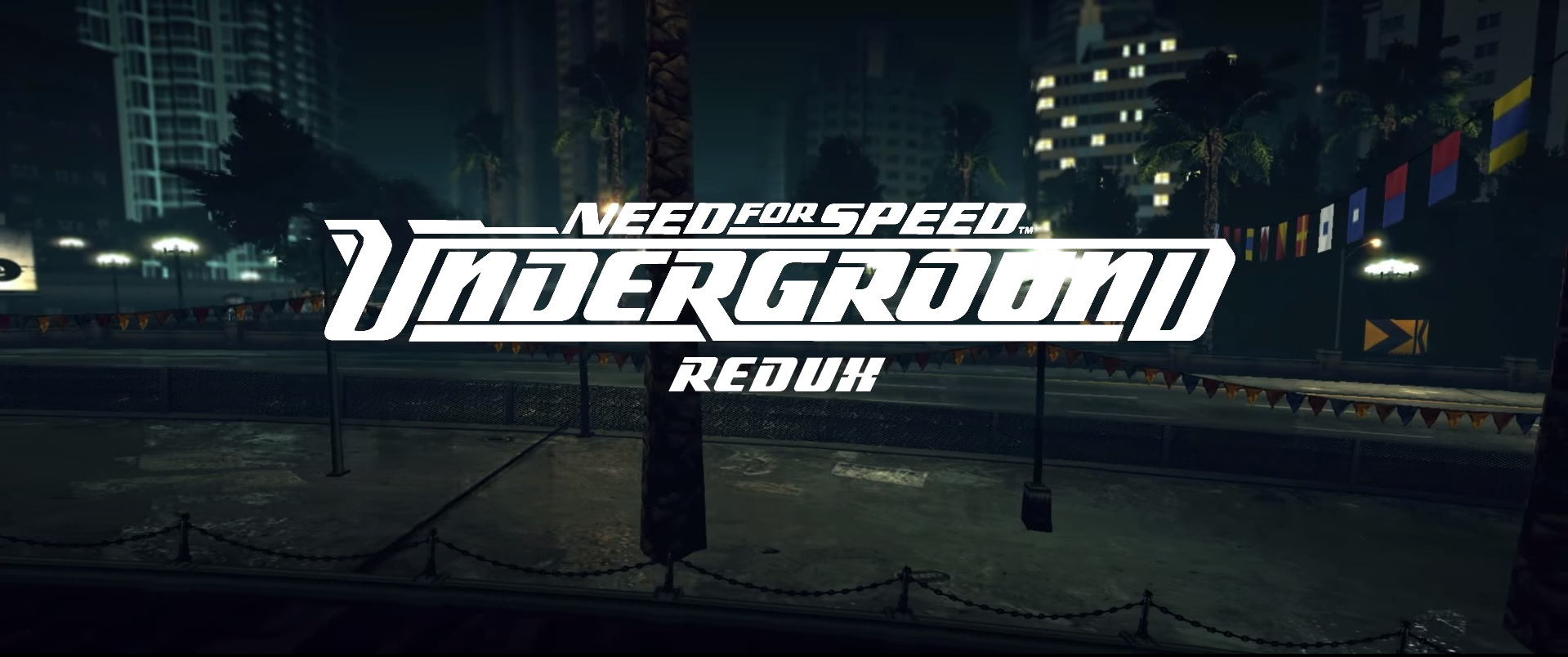 Need for speed Underground (2003) - Redux 2017 [Graphics mod v1.1.6 RUS]