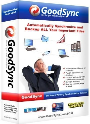 Скачать GoodSync Enterprise [10.11.9.9 Portable] [2020]