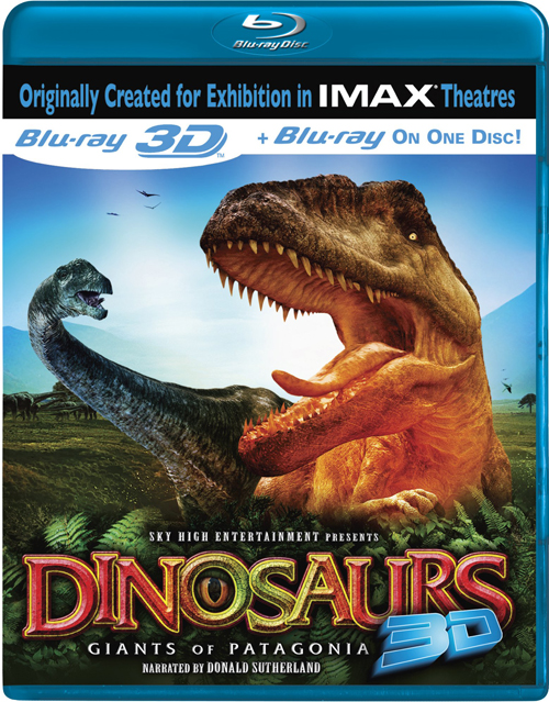 Динозавры: Гиганты Патагонии / Dinosaurs: Giants of Patagonia (3D Video) [ 2007 / Документальный / BDrip 1080p / Half OverUnder]