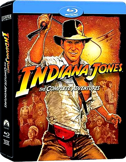 Индиана Джонс: Квадрология / Indiana Jones: The Complete Adventures [1981-2008 / Боевик, приключения / BDRip 720p]