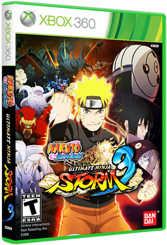 Naruto Shippuden: Ultimate Ninja Storm 3 [2013 / Fighting, 3D /  L / XBOX360]
