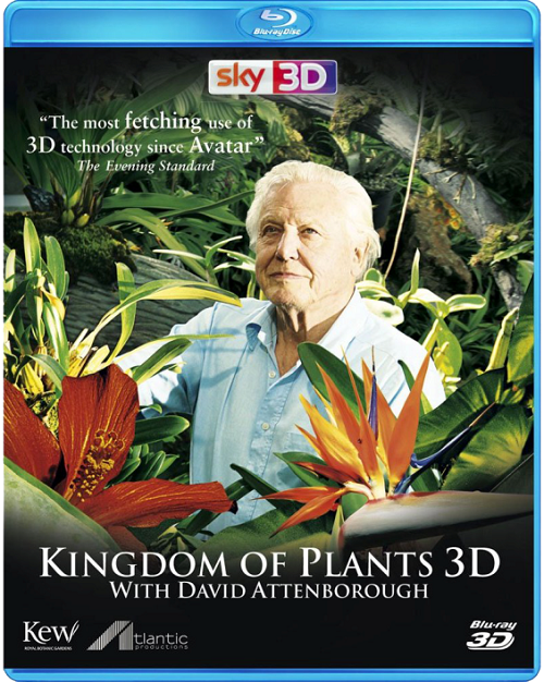 Царство растений / Kingdom of Plants  (3D Video) [2012/ Документальный / BDrip 1080p / Half OverUnder]